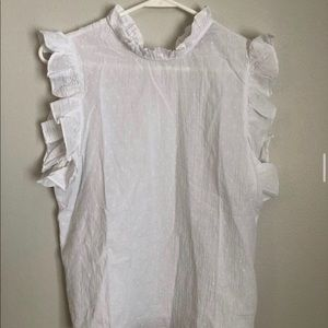 Never worn Ruffle tank